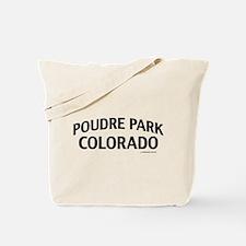 Poudre Park Colorado Tote Bag