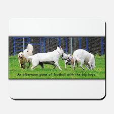 Bulldog Football  Mousepad