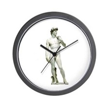 Michelangelo's David Wall Clock