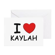 I love Kaylah Greeting Cards (Pk of 10)