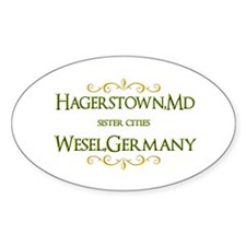Sister Cities Decal