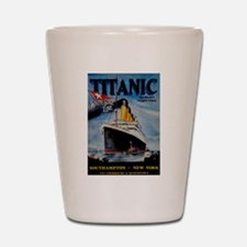 Vintage Titanic Travel Shot Glass
