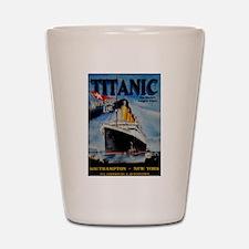 Vintage Titanic Travel Shot Glass