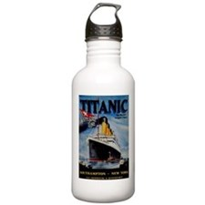 Vintage Titanic Travel Water Bottle