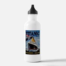 Vintage Titanic Travel Water Bottle