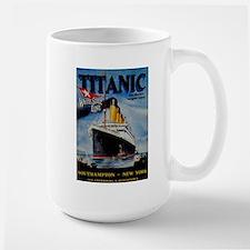 Vintage Titanic Travel Mug
