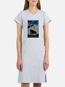 Vintage Titanic Travel Women's Nightshirt