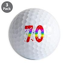 Confetti Rainbow 70 Golf Ball