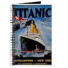 Vintage Titanic Travel Journal