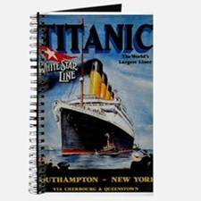 Vintage Titanic Travel Journal