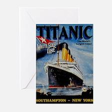 Vintage Titanic Travel Greeting Cards (Pk of 10)