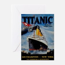 Vintage Titanic Travel Greeting Cards (Pk of 20)