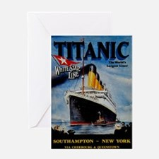 Vintage Titanic Travel Greeting Card