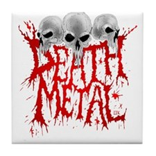 Death Metal Tile Coaster