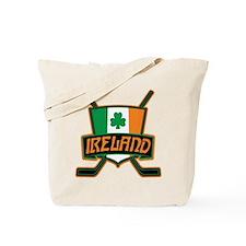 Ireland Irish Ice Hockey Shield Tote Bag