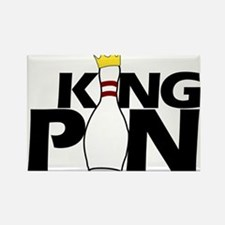 king pin Rectangle Magnet