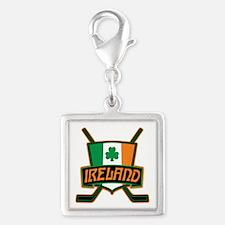 Ireland Irish Ice Hockey Shield Charms
