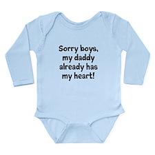 Sorry boys, my daddy already has my heart Body Sui