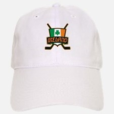 Ireland Irish Ice Hockey Shield Baseball Baseball Baseball Cap