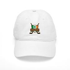 Ireland Irish Ice Hockey Shield Baseball Cap