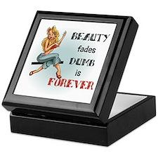 Beauty fades Keepsake Box