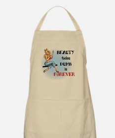 Beauty fades Apron
