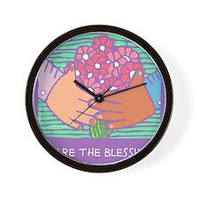 Cute Blessingart Wall Clock