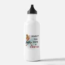 Beauty fades Water Bottle