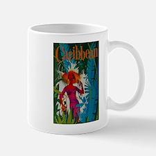 Vintage Caribbean Travel Mug