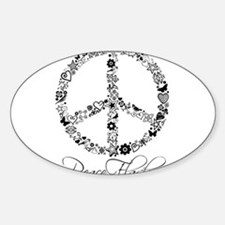 Peace Sketch Decal