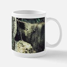 """""""Young Black Wolf"""" Mug"""
