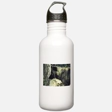 """Young Black Wolf"" Water Bottle"