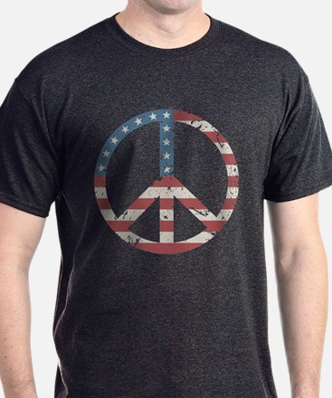 Vintage Peace USA T-Shirt