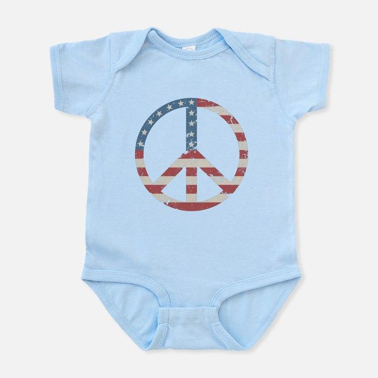 Vintage Peace USA Infant Bodysuit