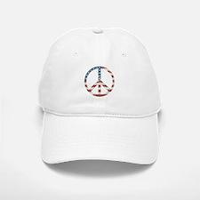 Vintage Peace USA Baseball Baseball Cap