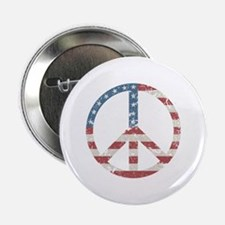 "Vintage Peace USA 2.25"" Button"