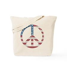 Vintage Peace USA Tote Bag