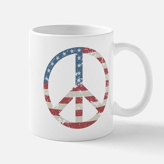 Vintage Peace USA Mug