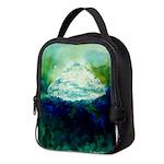 Snowy Mountain Neoprene Lunch Bag