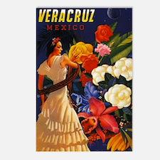 Vintage Veracruz Mexico Travel Postcards (Package