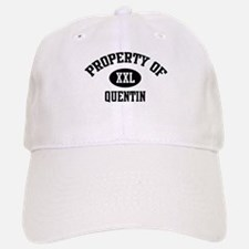 Property of Quentin Baseball Baseball Cap