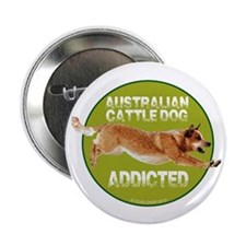 "red ACD addicted 2.25"" Button (10 pack)"