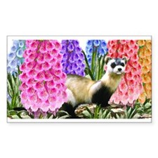 Black Footed Ferret Decal