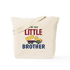 Litte Brother Dump Truck Tote Bag