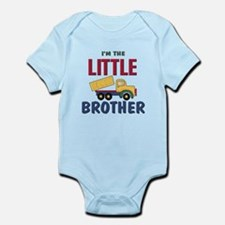 Litte Brother Dump Truck Onesie