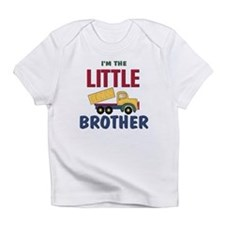 Litte Brother Dump Truck Infant T-Shirt