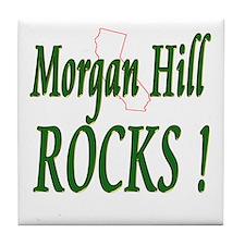Morgan Hill Rocks ! Tile Coaster