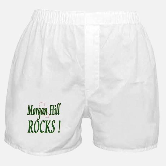 Morgan Hill Rocks ! Boxer Shorts