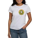 Libra Women's White Christmas T-Shirt
