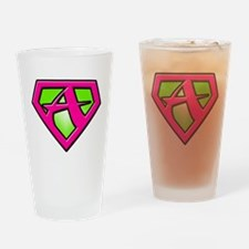 Super_A_2 Drinking Glass